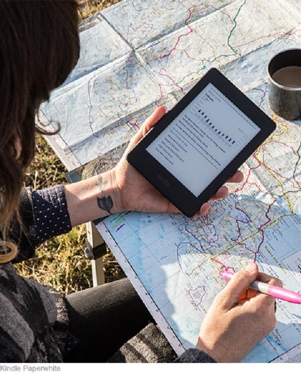 máy đọc sách Kindle Oasis Amazon 2