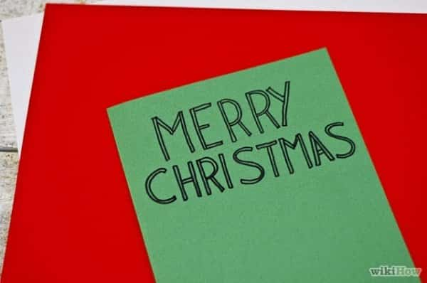 7 Cách Làm Thiệp Giáng Sinh Handmade Đơn Giản Mà Cực Kỳ Đẹp