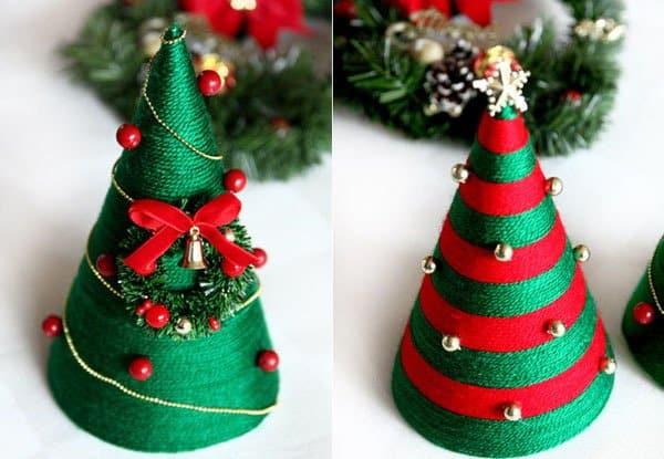101 Cách Làm Cây Thông Noel Bằng Nhiều Chất Liệu Quanh Nhà