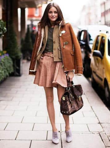 52+ kiểu áo khoác da nữ dáng dài & dáng lửng thu đông 2018