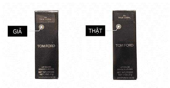 Cách phân biệt son MAC, Tom Ford, Dior, Givenchy, Giorgio Armani thật – giả