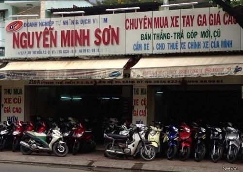 Cửa hàng bán xe cũ trả góp TPHCM - NGUYỄN MINH SƠN