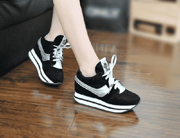 Top 7 Shop Giày Thể Thao Nữ Đế Cao TPHCM Vạn Người Mê
