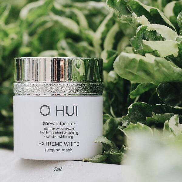 Kem dưỡng trắng da chống lão hóa Extreme White Cream 50g – OHUI