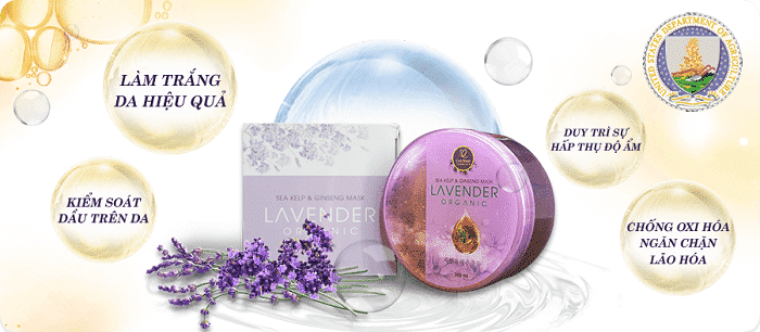 Bộ dưỡng da Lavender Organic Linh Nhâm