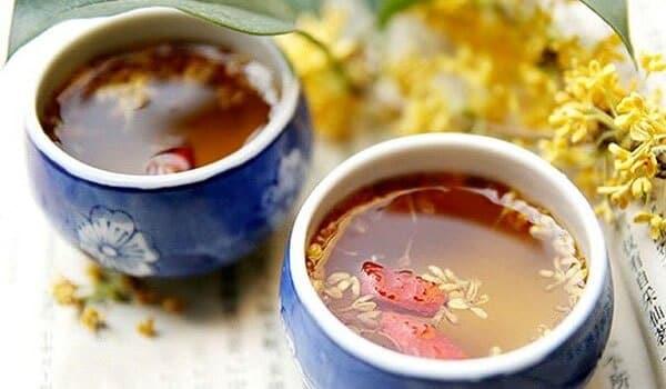 Loại trà uống cho người bị mỡ máu -Trà Táo gai hoàng kỳ