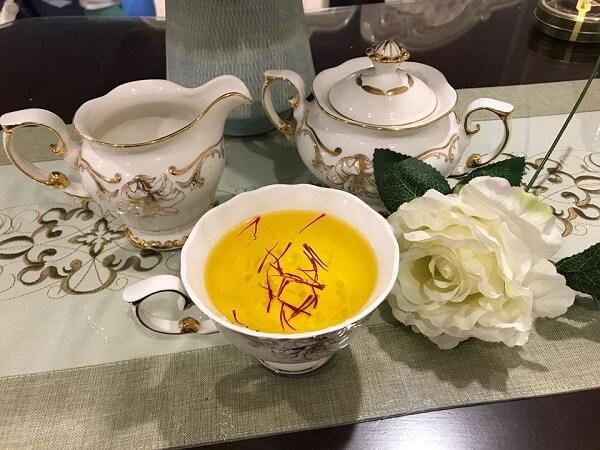 Loại trà uống cho người bị mỡ máu -Trà nhị hoa