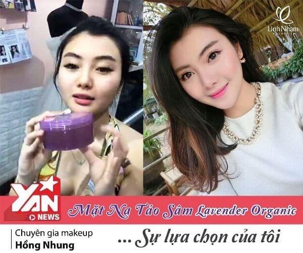 Review Bộ dưỡng da Lavender Organic Linh Nhâm