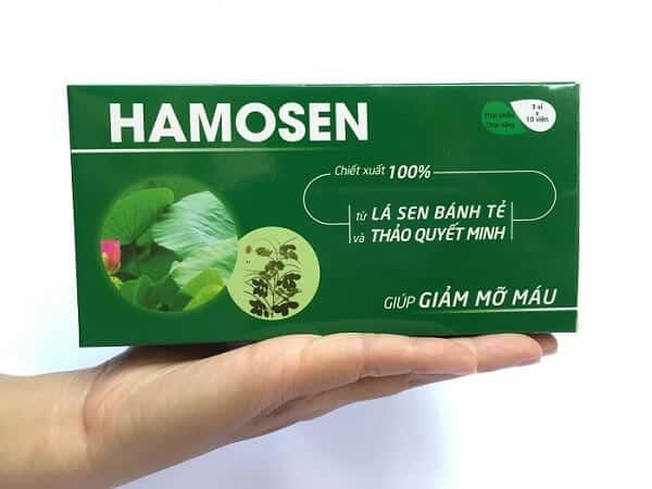 Thuốc Tây Giảm Mỡ Máu Tốt Nhất - Hamosen