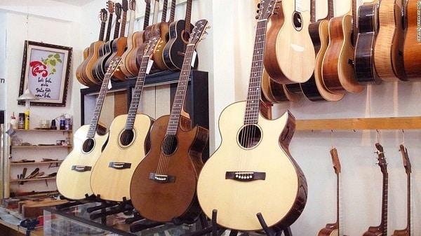 hình ảnh Top 7 shop guitar Hà Nội giá cả phải chăng - số 6