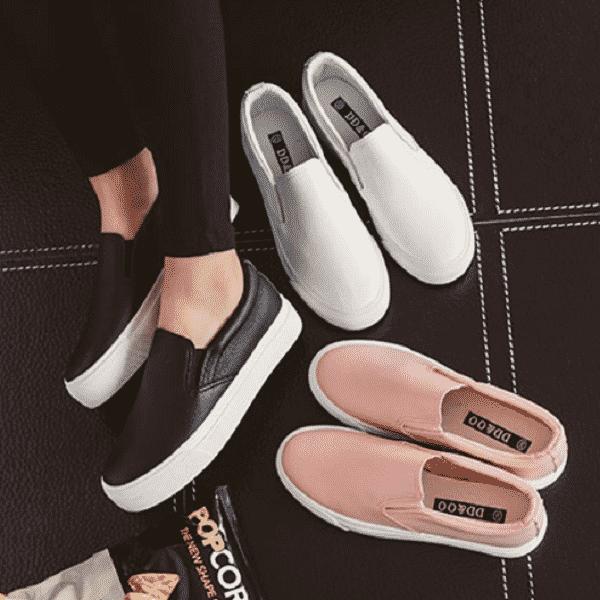hình ảnh Top 6 giày slip on nữ Hà Nội đa dạng và rất chất - số 4