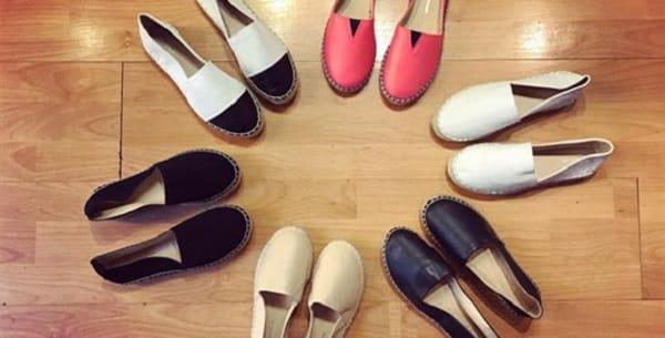 hình ảnh Top 6 giày slip on nữ Hà Nội đa dạng và rất chất - số 1