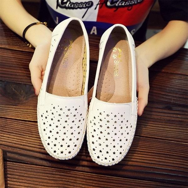 hình ảnh Top 6 giày slip on nữ Hà Nội đa dạng và rất chất - số 6