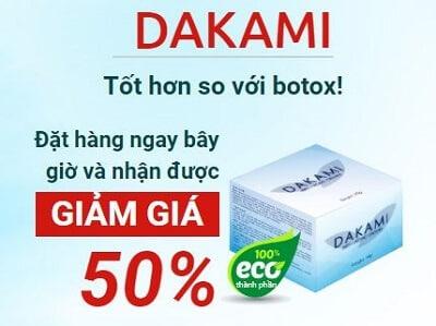 Kem chống lão hóa Dakami 1