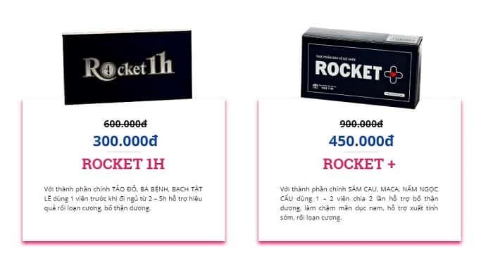 Bộ đôi Rocket 1h