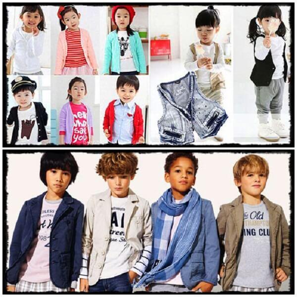 Shop quần áo trẻ em TPHCM - Bé Sành Điệu