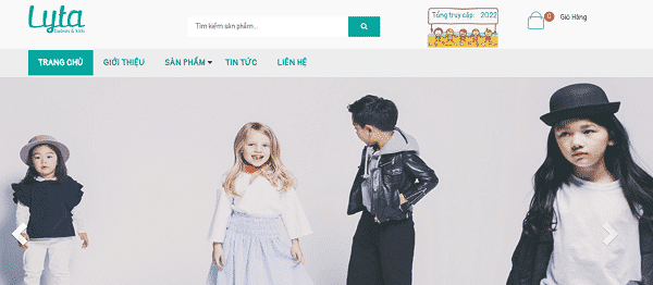 Shop quần áo trẻ em TPHCM - Lytashop
