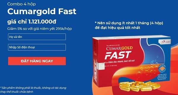 Cumargold Fast giá bao nhiêu