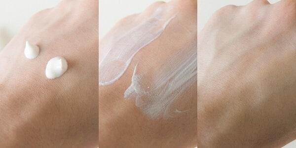 Kem chống nắng KIEHL'S Super Fluid Daily UV Defense Sunscreen Broad Spectrum SPF 50+ trên da