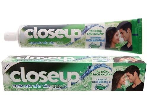 Thương hiệu kem đánh răng Close-up