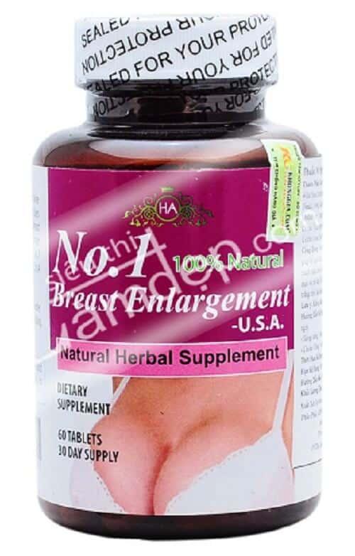 Thuốc tăng vòng 1 No. 1 Breast Enlargement USA