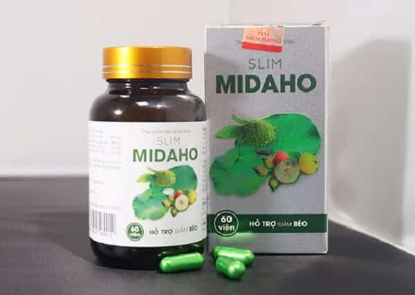 review thuốc giảm cân Slim Midaho