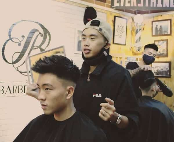 Barber shop Hà Nội - Bờm