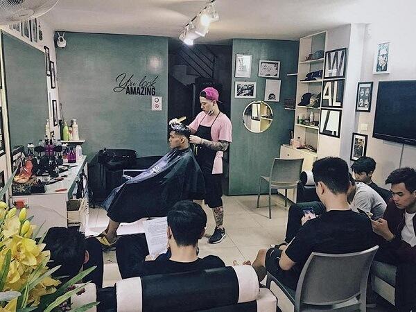 Barber shop Hà Nội - Hoàng Kon