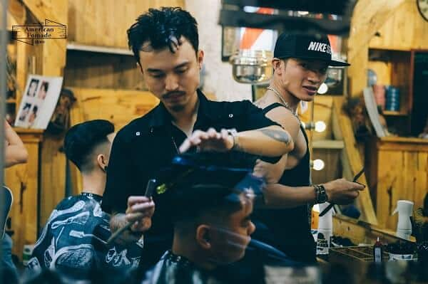 Barber shop Hà Nội - Ly The Barber