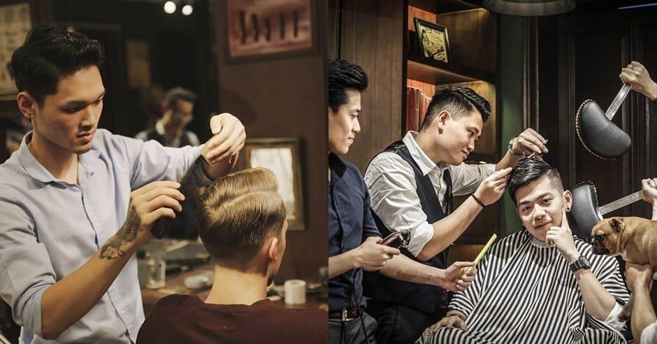 Barber shop Hà Nội - Mr. Right