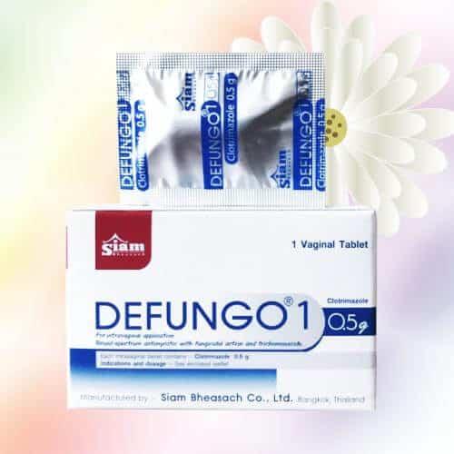 Thuốc đặt phụ khoa Defungo Thái Lan