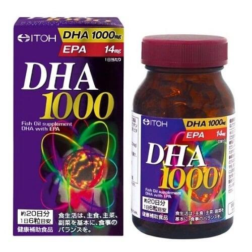 Thuốc bổ não DHA 1000 của Nhật