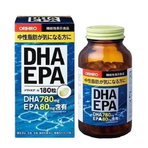 Thuốc bổ não DHA EPA Orihiro Nhật Bản