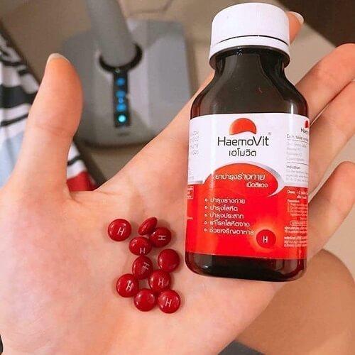 Thuốc tăng cân Haemovit Thái Lan