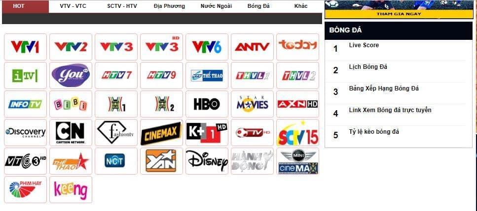 hình ảnh Danh sách top 10 website về bóng đá, thể thao hàng đầu ấn tượng - số 2