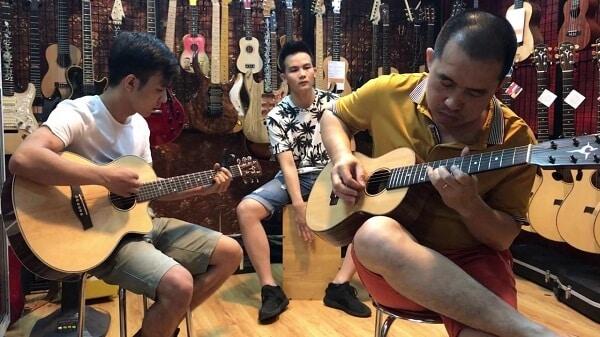 shop đàn guitar hà nội 7