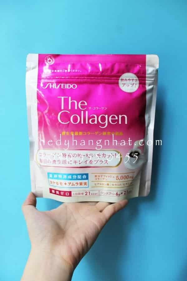 Collagen Shiseido dạng bột