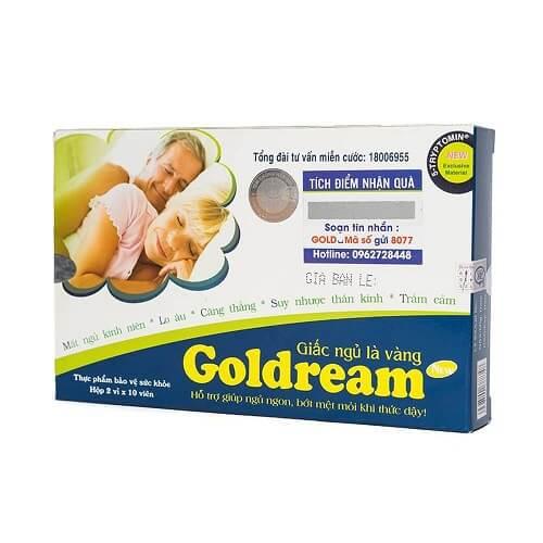 Thuốc trị mất ngủ Goldream