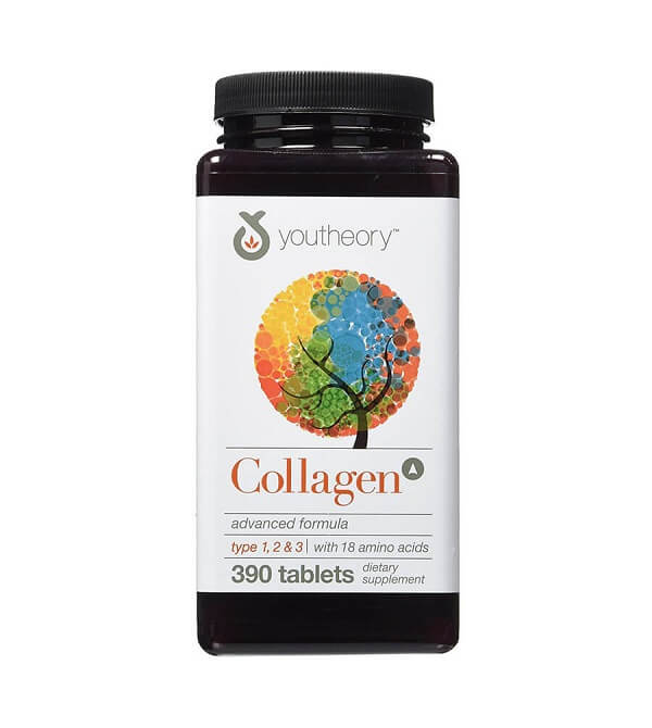 Viên uống Collagen Youtheory Type 1 2 & 3 của Mỹ