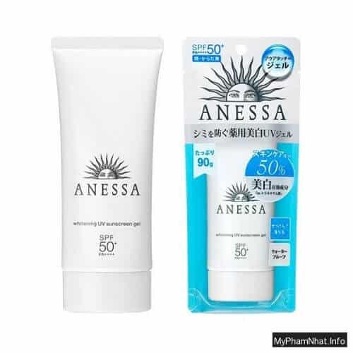 Kem chống nắng Shiseido Anessa Whitening UV Sunscreen Gel