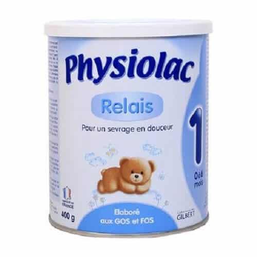 Sữa tốt nhất cho trẻ sơ sinh - Physiolac Pháp số 1