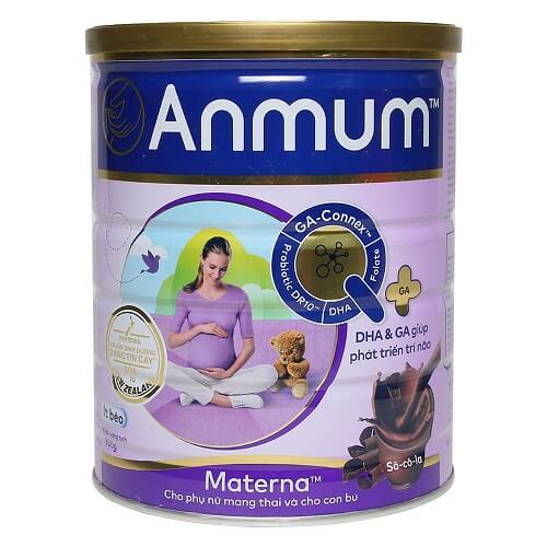Sữa tốt nhất cho bà bầu - Sữa Anmum Materna