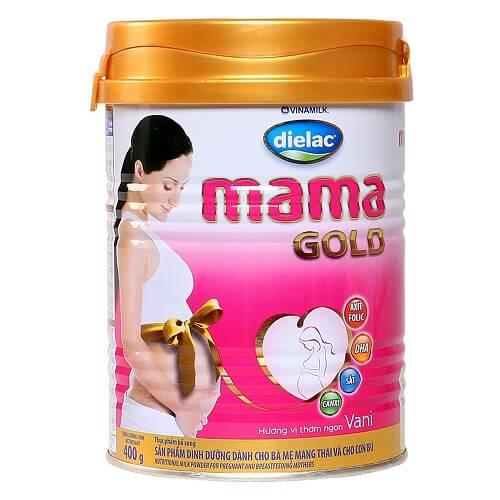 Sữa tốt nhất cho bà bầu - Sữa Dielac mama