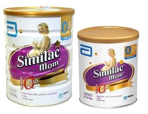 Sữa tốt nhất cho bà bầu - Sữa Similac Mom