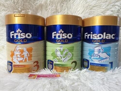 Sữa tốt nhất cho trẻ sơ sinh - Frisolac Gold 1 của Dutch Lady