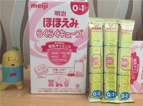 Sữa tốt nhất cho trẻ sơ sinh - Meiji số 0 (cho trẻ dưới 1 tuổi)