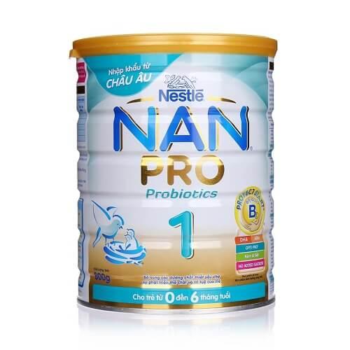 Sữa tốt nhất cho trẻ sơ sinh - Nan Pro 1 của Nestle