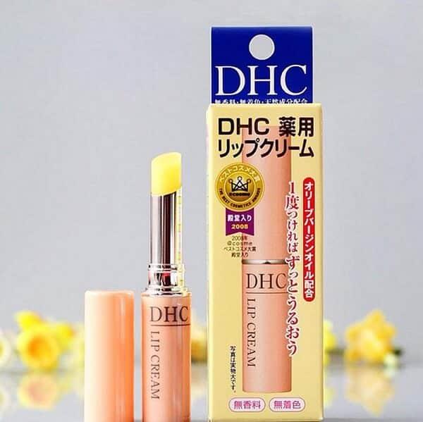 Son dưỡng môi tốt nhất thế giới - DHC Lip cream