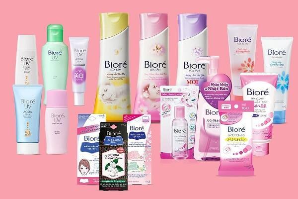 Thương hiệu mỹ phẩm Biore