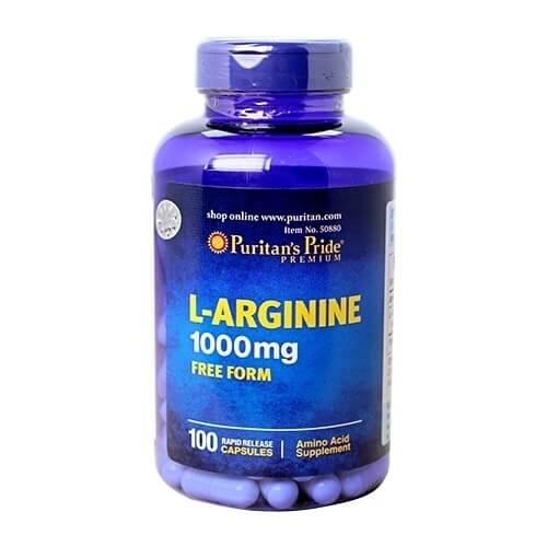 Viên giải độc gan Puritan's Pride L-Arginine